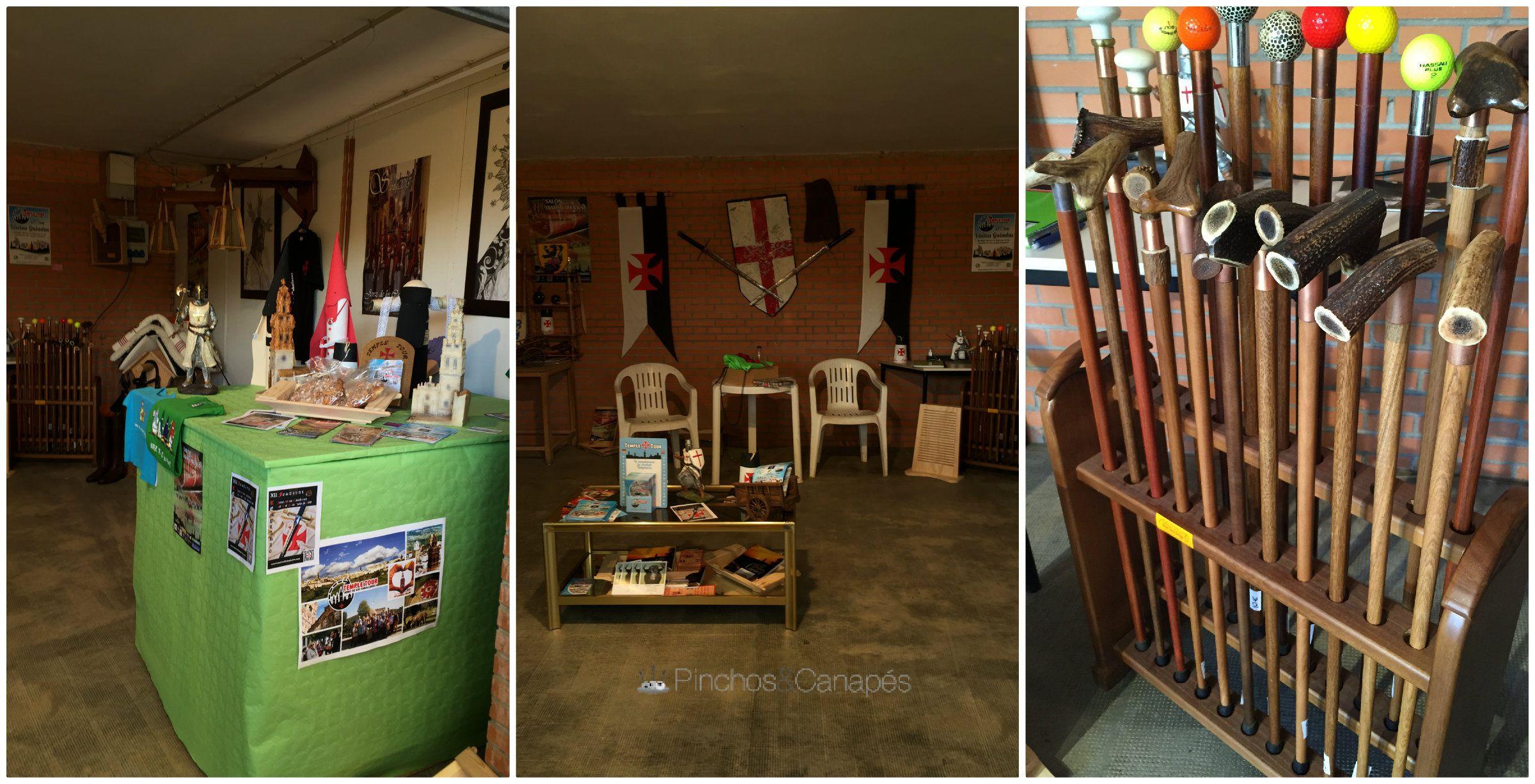 Salon del jamon ib rico y visita a jerez de los caballeros for Plural of canape